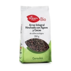 Arroz Hinchado de Cacao y Ágave Bio