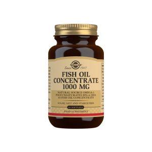 Aceite de Pescado Concentrado 1000 mg – 60 Cápsulas blandas