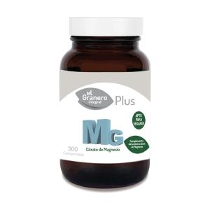 MG 500 – Citrato de magnesio – El Granero Integral – 300 comprimidos