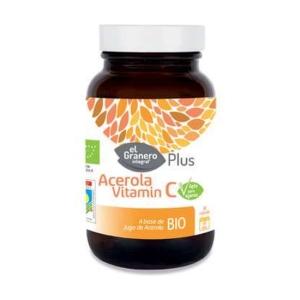 Acerola Vitamin C BIO – El Granero Integral – 60 cápsulas