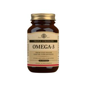 """Omega-3 """"Triple Concentración"""" – 100 Cápsulas blandas"""