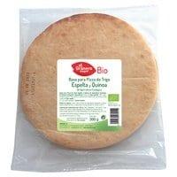 Base para pizza de Trigo Espelta y Quinoa Bio