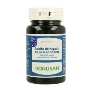 Aceite de Hígado de Pescado Forte – Bonusan – 120 cápsulas