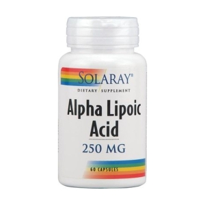 Acido Alfa Lipoico 250mg – Solaray – 60capsulas