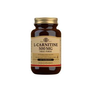 L-Carnitina 500 mg – Solgar – 30 comprimidos