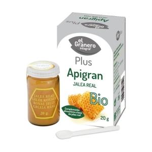Apigran Jalea Real – El Granero Integral – 20 gr