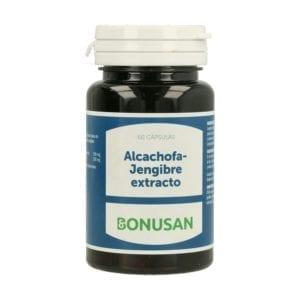 Alcachofa-Jengibre Extracto – Bonusan – 60 cápsulas