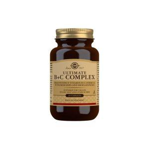 Ultimate B + C Complex – 30 Comprimidos