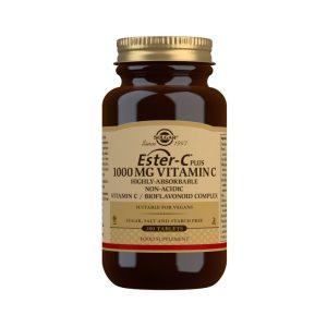 Ester-C® Plus Vitamina C 1000 mg – Solgar – 180 comprimidos