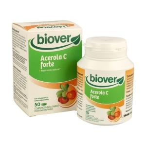 Acerola C Forte – Biover – 50comprimidos