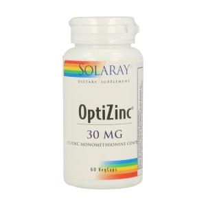 OptiZinc ( Zinc y Vitamina B6 ) – Solaray – 60 capsulas