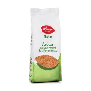 Azúcar Moreno Integral de Caña con Melaza – El Granero Integral – 1 kilo