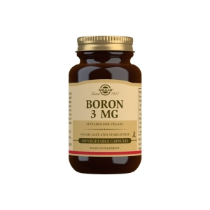 Boro 3 mg – Solgar – 100 cápsulas