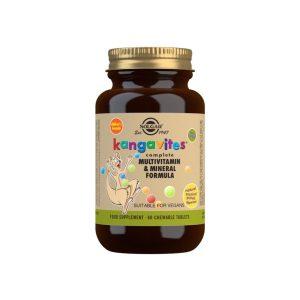 Kangavites Multi Sabor Frutas Tropicales – Solgar – 60 comprimidos