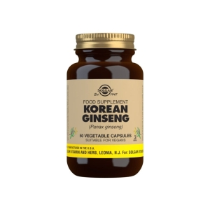 Ginseng Coreano Extracto de Raíz – Solgar – 50 cápsulas