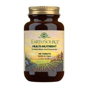 Earth Source – Solgar – 180 comprimidos