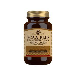 BCAA Plus – Solgar – 50 cápsulas