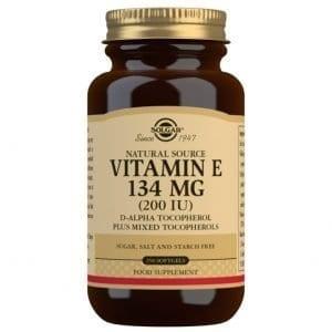 Vitamina E 400 UI (268 mg) – 250 Cápsulas blandas