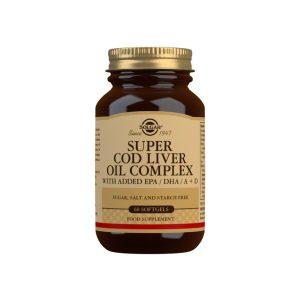 Super Cod Liver Oil Complex – Solgar – 60 perlas