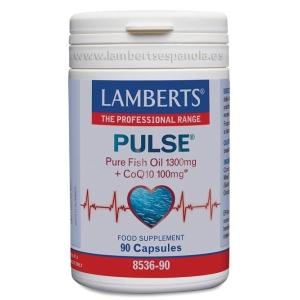 PULSE® con Omega 3 y Coenzima Q10 – 90 Cápsulas