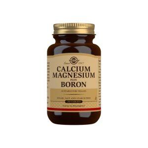 Calcio / Magnesio plus Boro – Solgar – 250 Comprimidos
