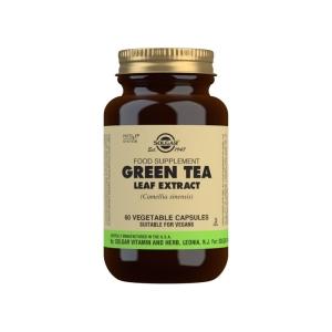 Té Verde Extracto de Hoja (Camellia sinensis) – Solgar – 60 Cápsulas