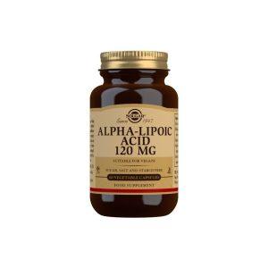 Ácido Alfa-Lipoico 120 mg – 60 Cápsulas vegetales