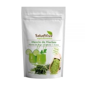 Mezcla de Hierbas (Hierba de Trigo + Cebada + Avena) 200g