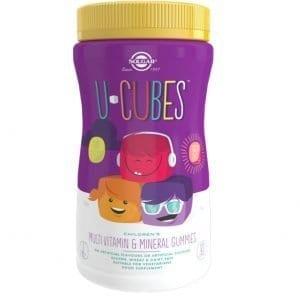 U-Cubes – Solgar – 120 gominolas