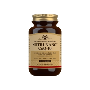Nutri-Nano CoQ-10 3.1x – Solgar – 50 Cápsulas
