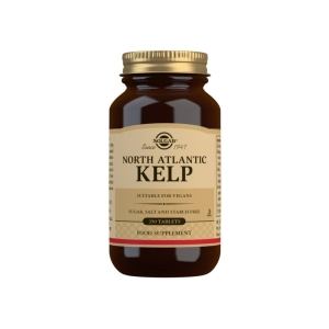 Kelp (yodo) – Solgar – 250 comprimidos