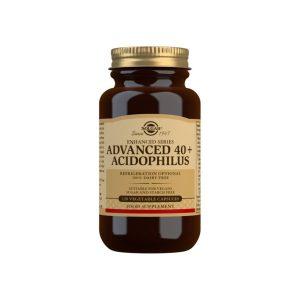 40 Plus Acidophilus Avanzado (no lácteo) – 120 Cápsulas vegetales