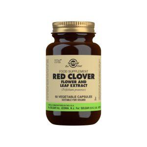 Trébol Rojo Extracto de Flor y Hoja (Trifolium pratense) – 60 Cápsulas vegetales
