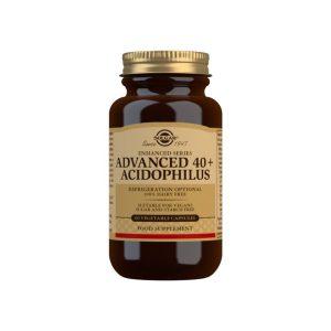 40 Plus Acidophilus Avanzado (no lácteo) – 60 Cápsulas vegetales