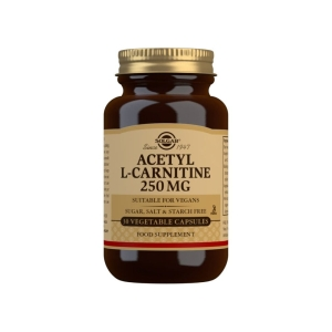 Acetil – L-Carnitina 250 mg – 30 Cápsulas vegetales