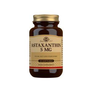 Astaxantina 5 mg – 30 Cápsulas blandas
