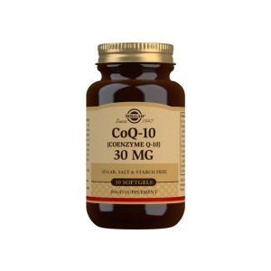 Coenzima Q-10 30 mg – 30 Cápsulas blandas