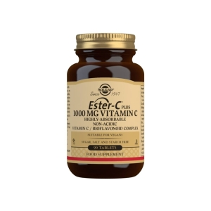 Ester-C® Plus Vitamina C 1000 mg – Solgar – 90 comprimidos