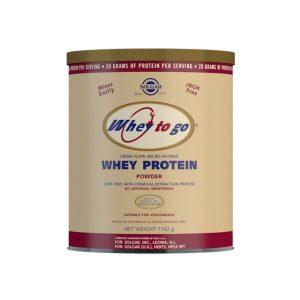 Whey To Go Proteína de suero en polvo – Sabor chocolate – Solgar – 1162 gr