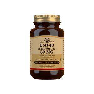 Coenzima Q-10 60 mg – Solgar – 30 Cápsulas blandas