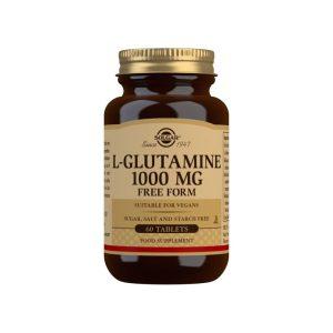 L-Glutamina 1000 mg – Solgar – 60 comprimidos