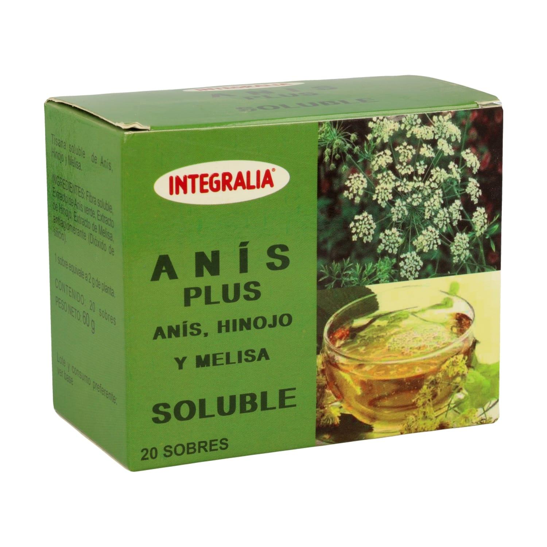 Anís Plus Soluble – Integralia – 20 sobres