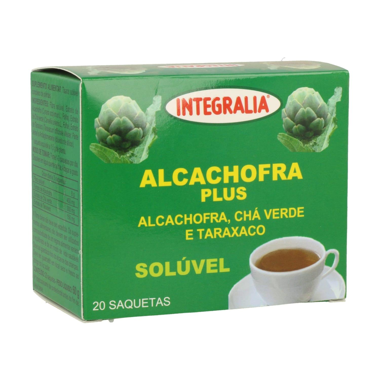 Alcachofa Plus Soluble  – Integralia – 20 sobres