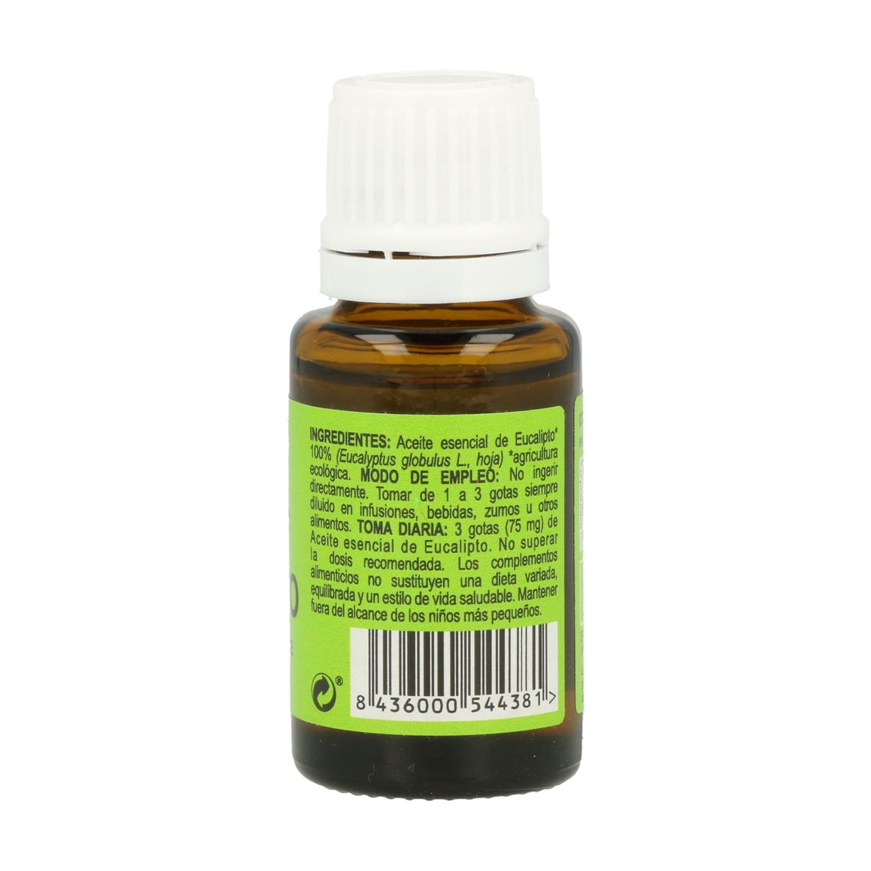 Aceite Esencial de Eucalipto Eco – Integralia – 15 ml