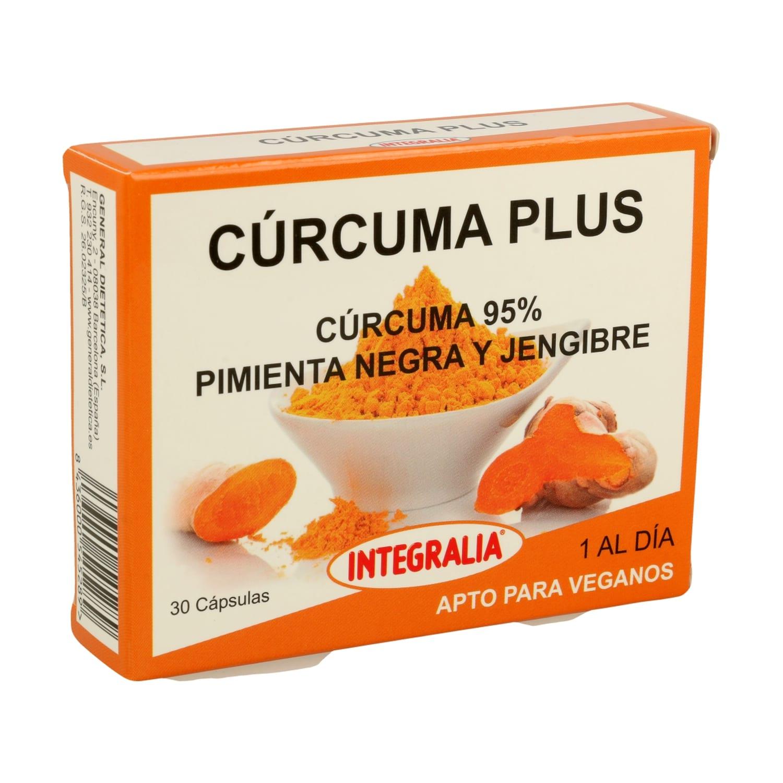 Cúrcuma Plus – Integralia – 30 cápsulas