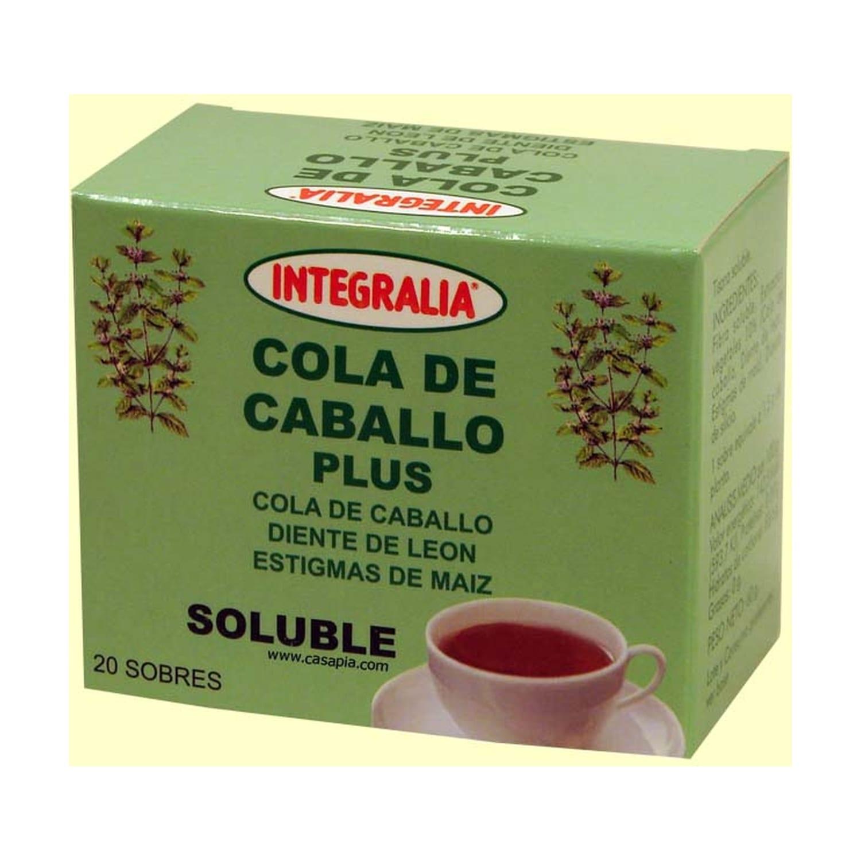 Cola De Caballo Plus Soluble – Integralia – 20 sobres
