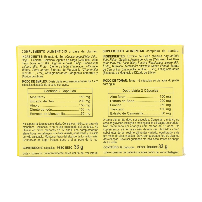 Aloe Ferox Plus – Integralia – 60 cápsulas