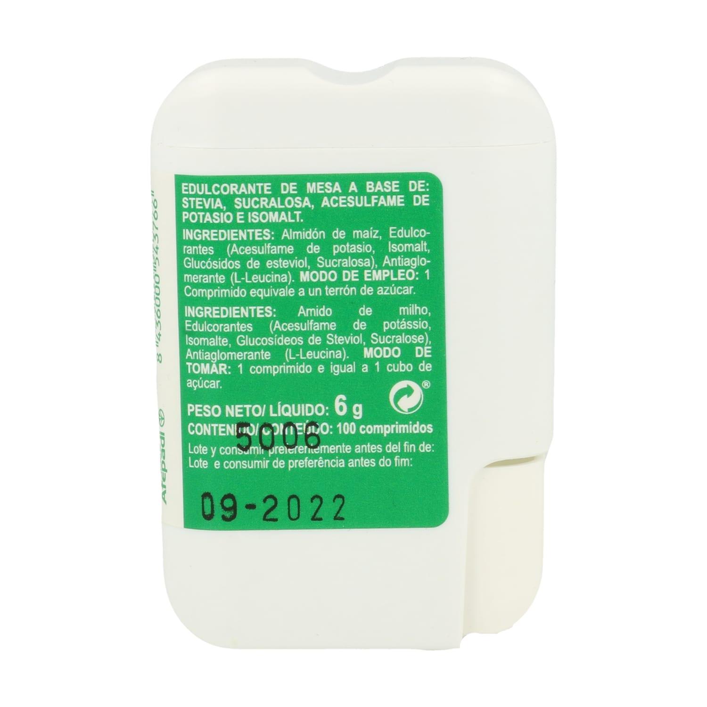Igualzucar Stevia Plus – Integralia – 100 comprimidos