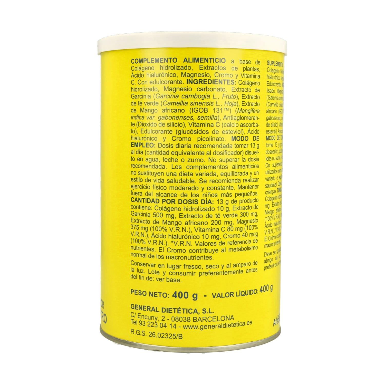 Colágeno Soluble Plus Slim – Sabor Neutro – Integralia – 400 gramos