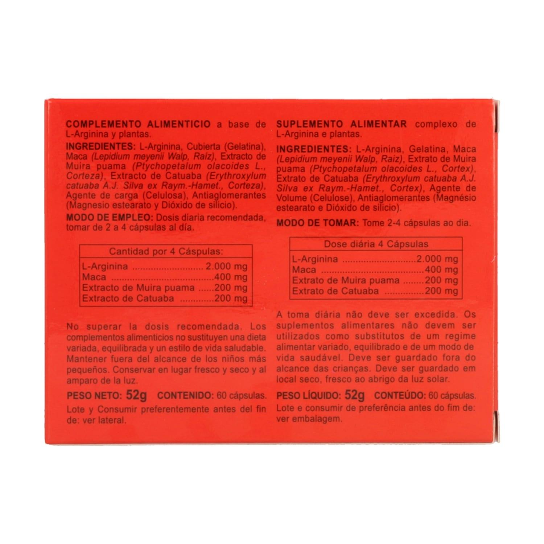 Arginina Plus – Integralia – 60 cápsulas